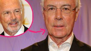 Kurzes Gastspiel: Beckenbauer wieder glatt rasiert