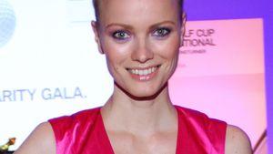 Franziska Knuppe überzeugt pretty in pink!