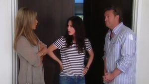 Jennifer Aniston, Courteney Cox und Matthew Perry