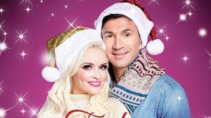 """Daniela Katzenberger und Lucas Cordalis auf ihrem Album """"Frohe Weihnachten"""""""
