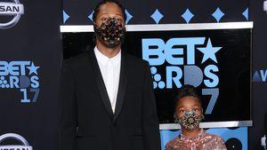 Future und seine Tochter Londyn bei den BET Awards 2017