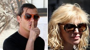 Gavin Rossdale und Courtney Love