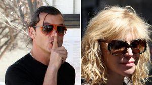 Gavin Rossdale und Courtney Love