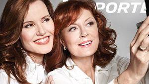 Geena Davis & Susan Sarandon: Thelma & Louise 2.0