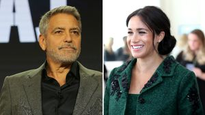 George Clooney hofft, Meghan gewinnt durch Baby an Sympathie