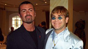 George Michael und Elton John 1995