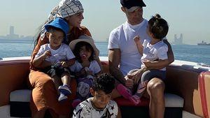 Süße Worte von Cristiano Ronaldos Liebster zum Vatertag