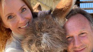 Geri Horner postet seltenes Pärchenfoto mit ihrem Ehemann