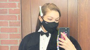 Fans rätseln: Gigi Hadid postet mysteriöses Smoking-Selfie