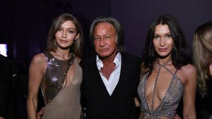 "Gigi Hadid, Mohamed Hadid und Bella Hadid auf der ""Victoria's Secret""-After Party in Paris"