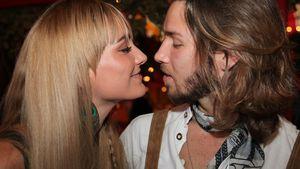 Gil Ofarim mit Verena beim Oktoberfest