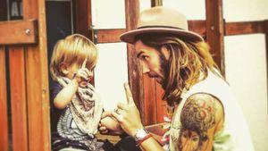 Musiker Gil Ofarim und sein Sohn Leonard