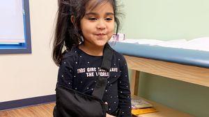 Autsch! Snookis Tochter (4) hat sich den Arm gebrochen