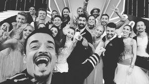 "Giovanni Zarrella (vorne) mit ""Let's Dance""-Crew"