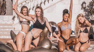 In ihrer GNTM-Freizeit: Die Girls durften nicht einfach raus