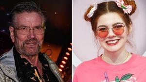 Gemeinsam gefeiert: Klaudia Giez & Heidis Dad verstehen sich