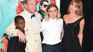 Rocco Ritchie, Guy Ritchie, Jacqui Ainsley und David Banda Mwale