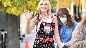 Mode-Fail? Gwen Stefani setzt auf schrille Xmas-Latzhose