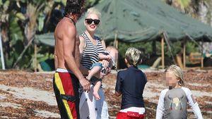 Familienidyll am Strand: Gwen Stefani & ihre Süßen