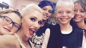 Gwen Stefani mit ihren Söhnen