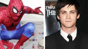 Percy Jackson: Wird Logan Lerman Spiderman?