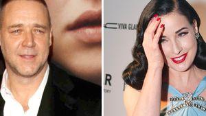 Sind Russell Crowe & Dita von Teese etwa ein Paar?