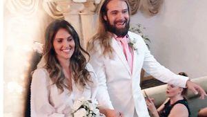 Warum heiratete Hana Nitsche in einem so legeren Kleid?