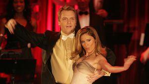 "Hape Kerkeling und Nazan Eckes bei ""Let's Dance"" 2006"