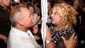 Harald Elsenbast und Silvia Wollny bei einem Auftritt von Silvia