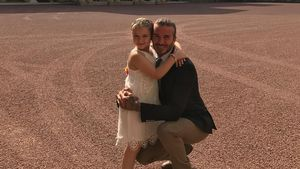 Harper Seven und David Beckham