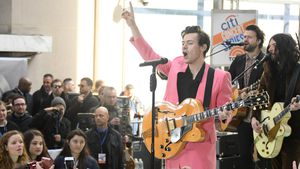 "Harry Styles in NBCs ""Today Show"""