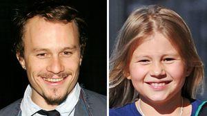 Heath Ledger und seine Tochter Matilda