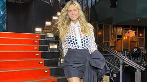 In heißem Look: Heidi Klum am Set der 16. GNTM-Staffel