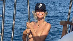 Auf Jacht: Heidi Klum zeigt sich schon wieder oben ohne!