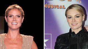 Heidi Klum und Martina Hill