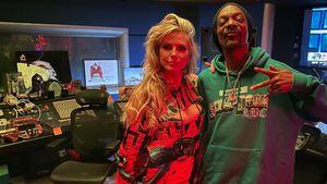Nanu, was treibt Heidi Klum da mit Snoop Dogg im Tonstudio?
