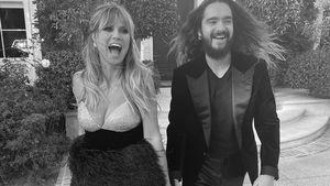 Verknallt wie beim Schulball: Heidi und Tom Kaulitz bei AMAs