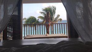 Heidi Klum im Urlaub