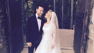 Heidi Range mit ihrem Ehemann Alex Partakis