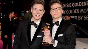 Heiko und Roman Lochmann bei den Verleihungen der Goldenen Kamera 2017