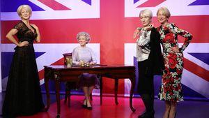 Wachsfiguren-Vierlinge: Welche ist die echte Helen Mirren?