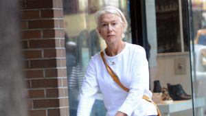 Müde & mit Gehwagen: Helen Mirren kaum wiederzuerkennen!