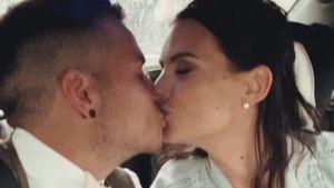 Erste Bilder: Denise und Henning Merten haben geheiratet!