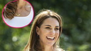 Süß! Herzogin Kate trägt besondere Kette für ihre Kinder