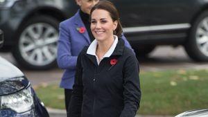 Neue Fotos von Herzogin Kate: Wo ist denn der Baby-Bauch?