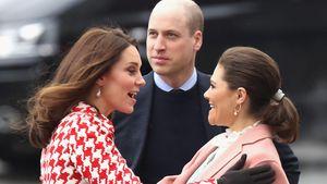 Treffen der Super-Royals: Kate & Prinzessin Victoria BFFs?