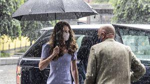 Modisch: Herzogin Kates Look überzeugt selbst im Regen