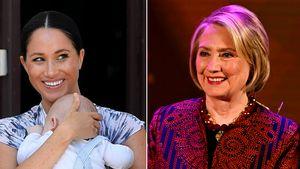 Baby Archie war dabei: Meghan hatte Date mit Hillary Clinton