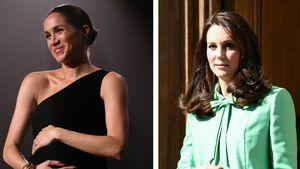 Nicht nur Meghan: Diese Royals streichelten Baby-Kugel auch