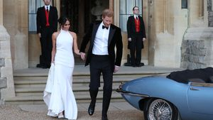 Stella McCartney: So kam's zu Meghans zweitem Hochzeitskleid